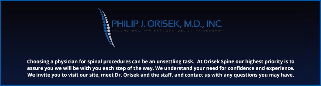 Phillip J. Orisek, M.D., INC.